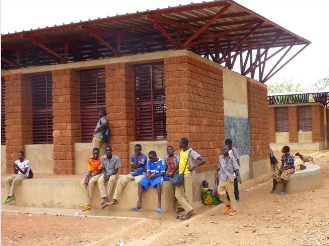 Bethel School after building completion!